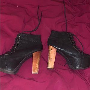 Jeffrey Campbell Boot Heels Size 7.5